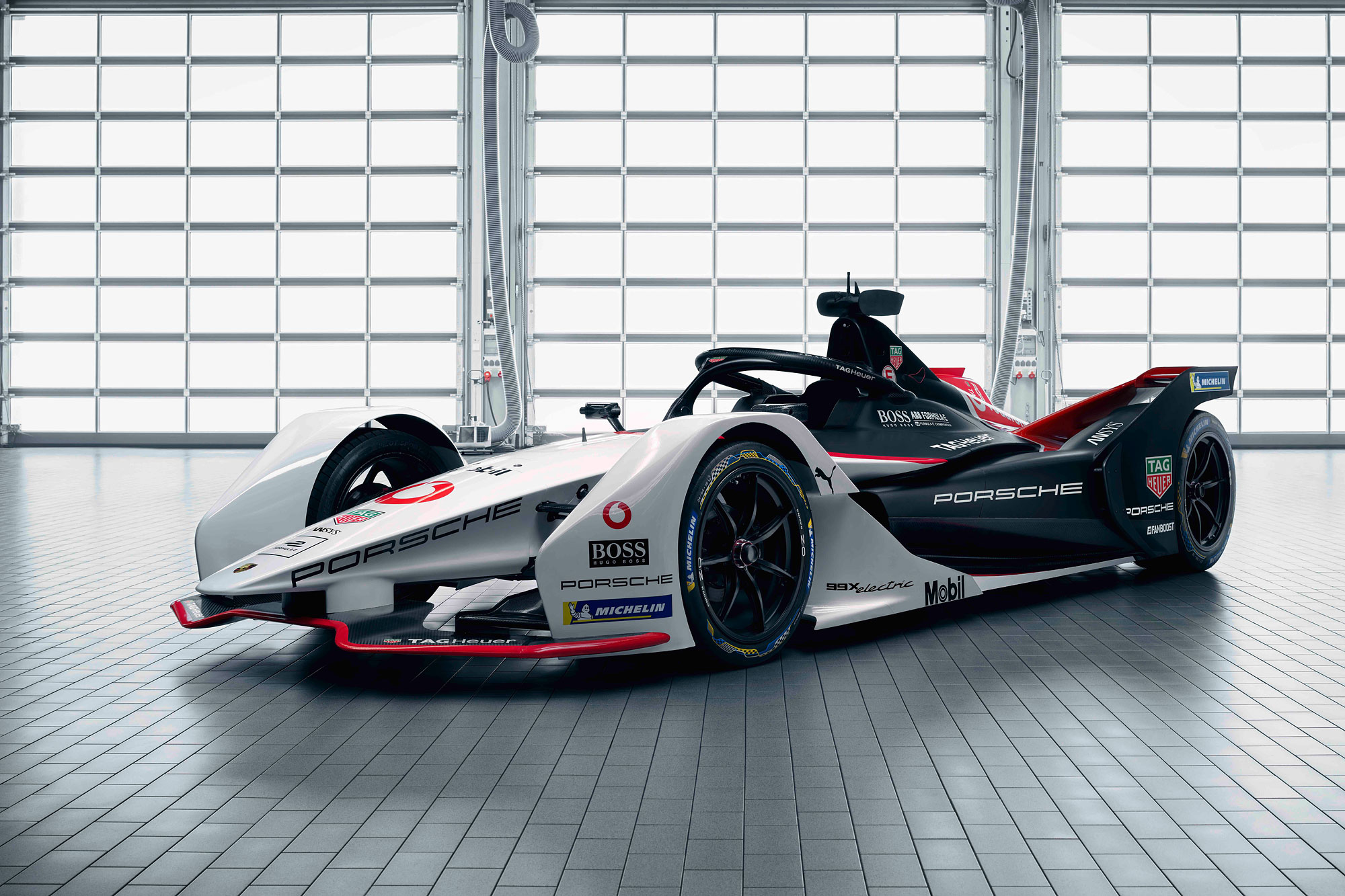 99X Electric 是 Porsche 進軍 Formula E 電動方程式錦標賽的首發作品。