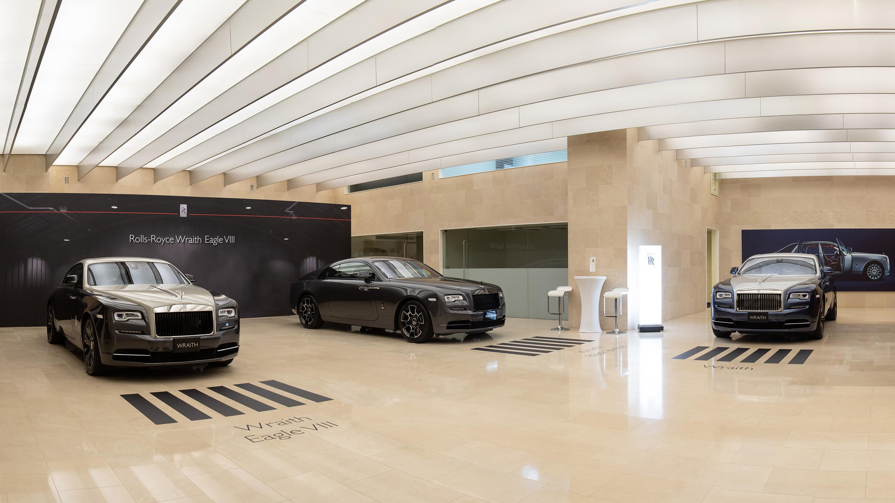 Rolls-Royce Wraith Eagle VIII 飛鷹八號登台,台灣限量 1 部已完售