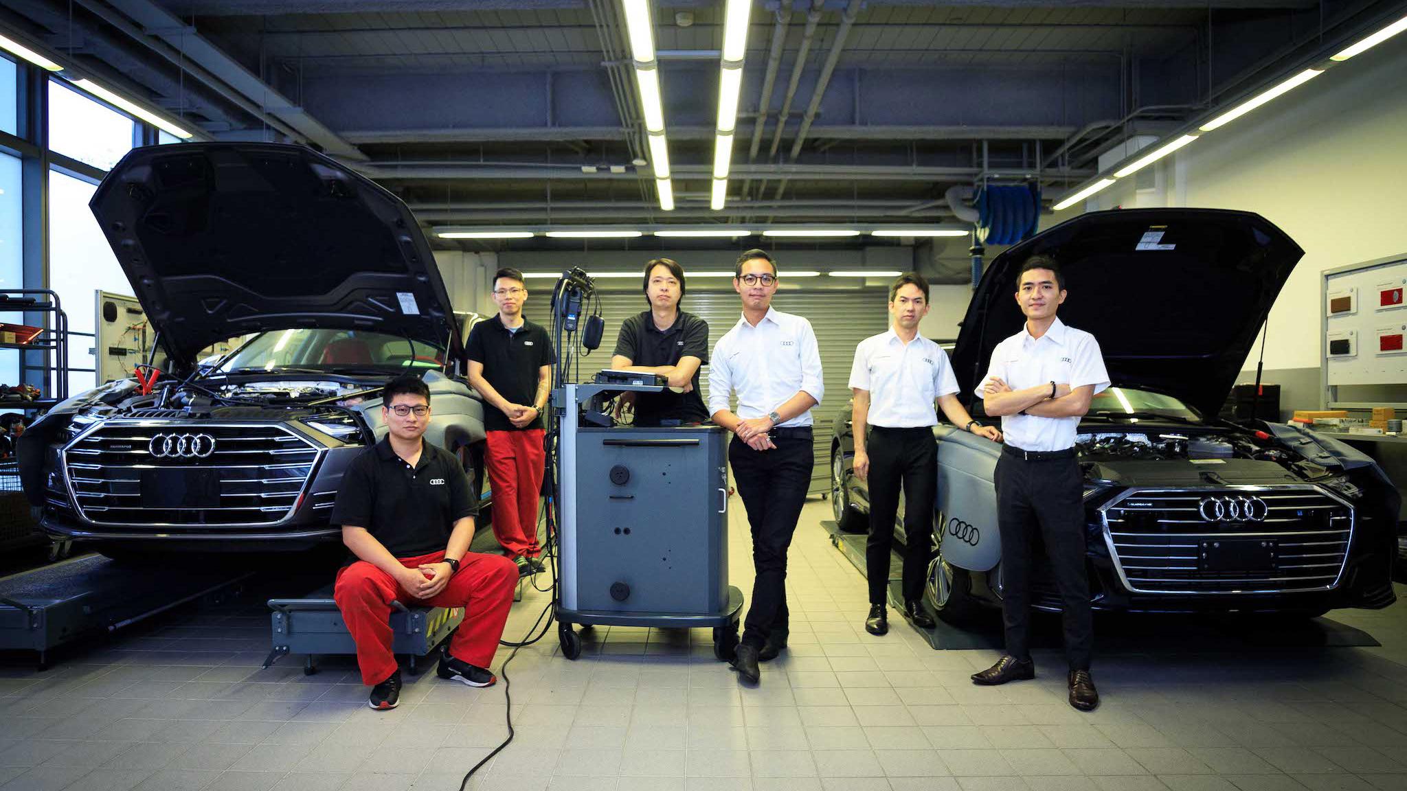 從 Audi Twin Cup 台灣區決賽激烈競爭中脫穎而出的 6 位選手,正展開密集而高強度的訓練。
