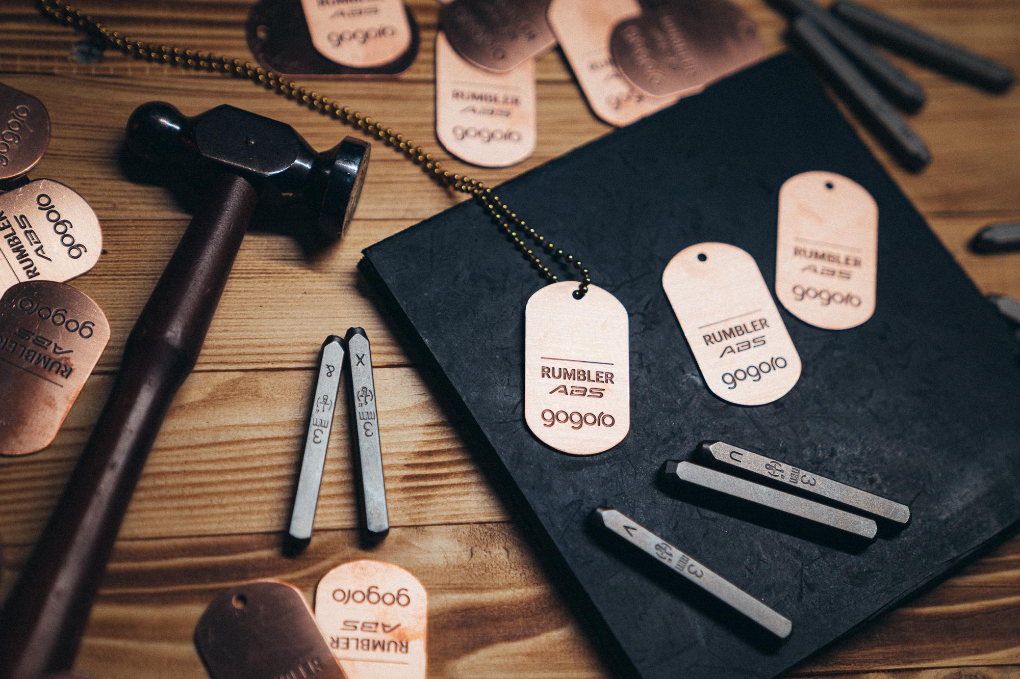 消費者只需憑藉 BAR Rumbler 限定邀請函,就可於現場領取「專屬銅製軍牌」。