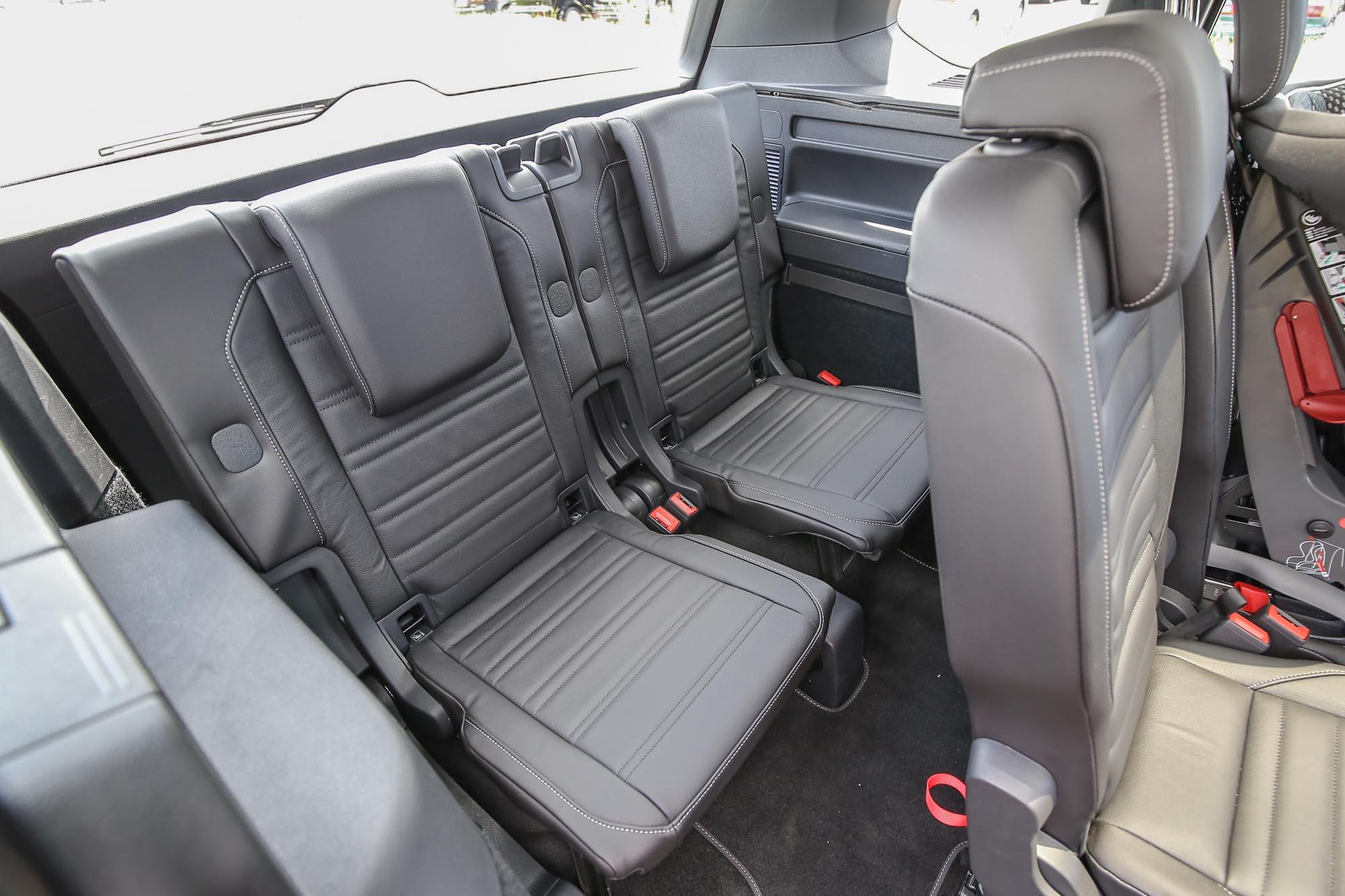第三排座椅也採獨立設計。