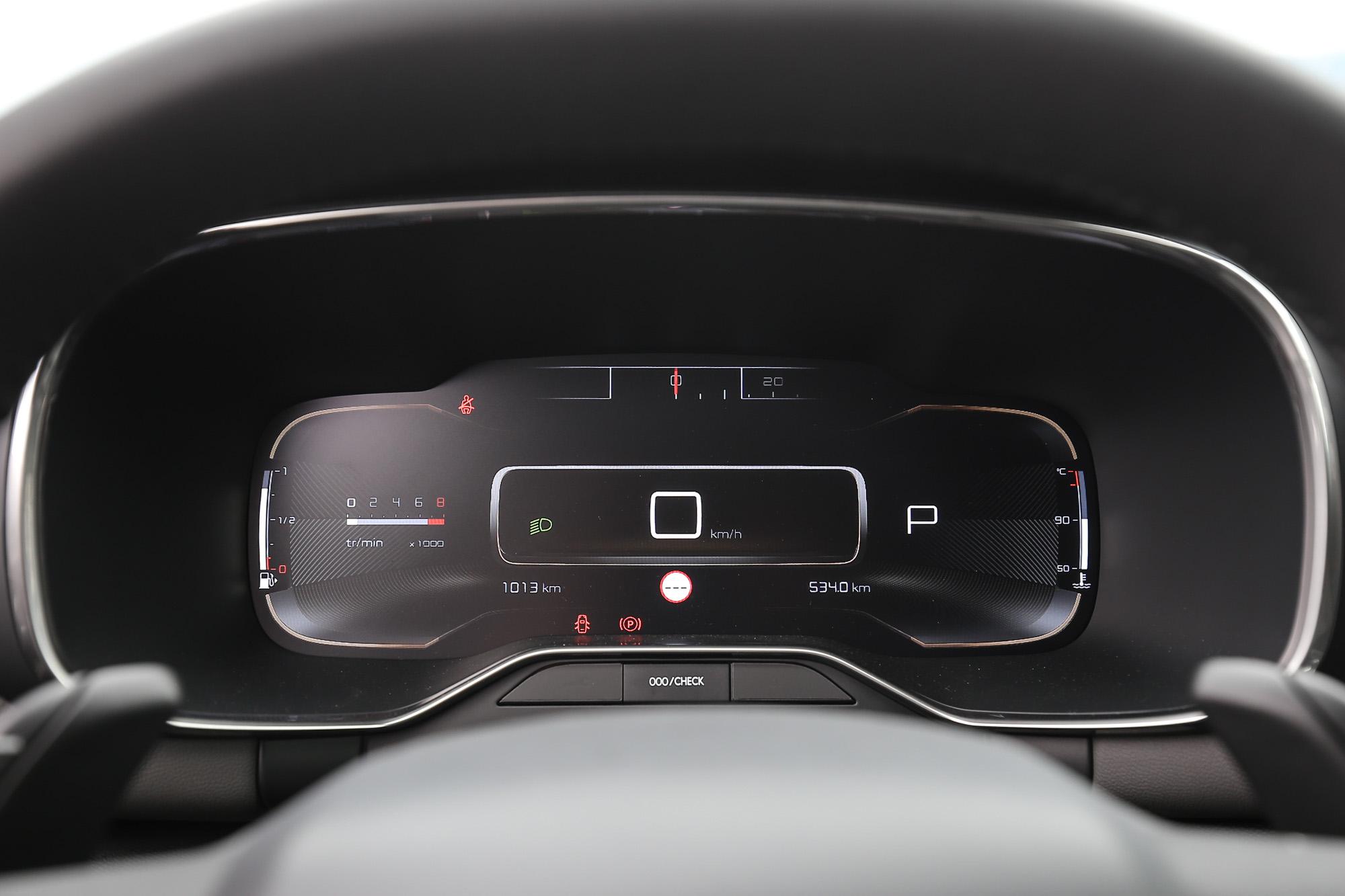 12.3 吋全彩數位儀錶顯示幕,提供截然不同的資訊判讀體驗。