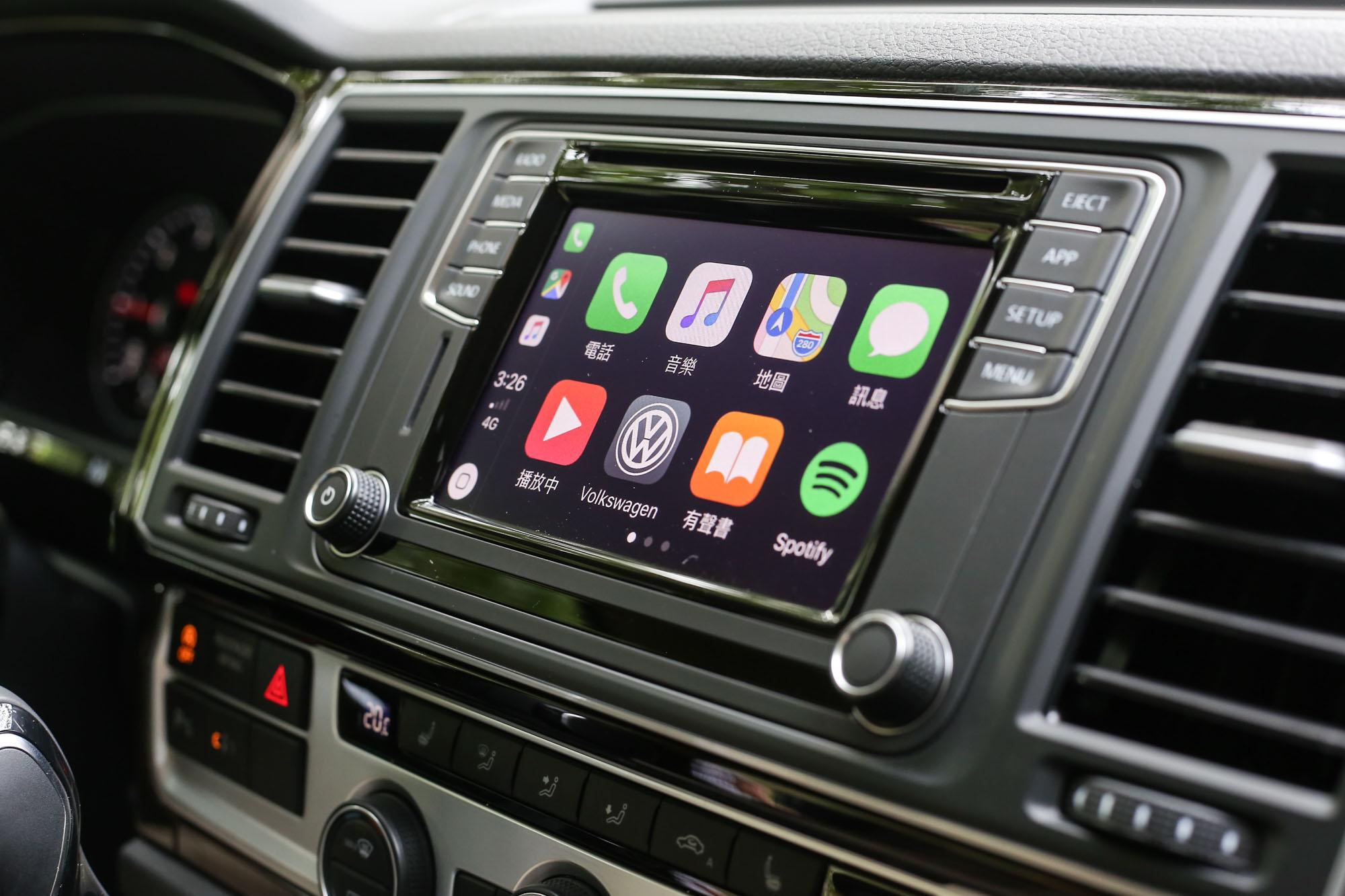 手機連結功能已經是 Multivan 全車系標配。