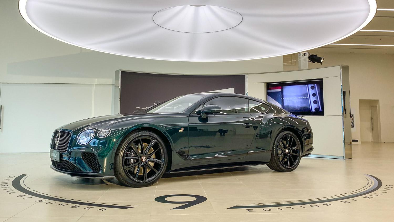 1,900 萬起登台!Bentley Continental GT Number 9 限量 5 台銷售一空