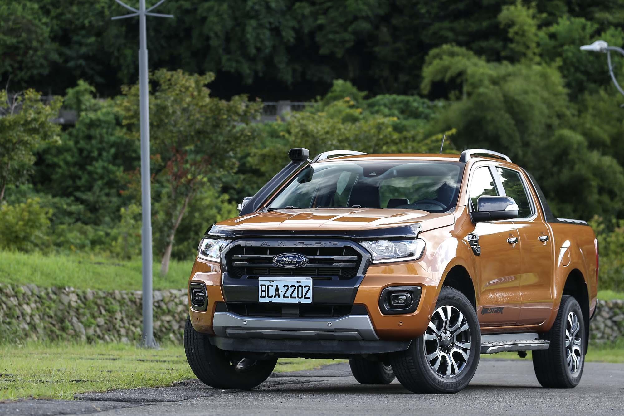 試駕車型為售價 149.8 萬元的Ranger Wildtrak 旗艦型車款。
