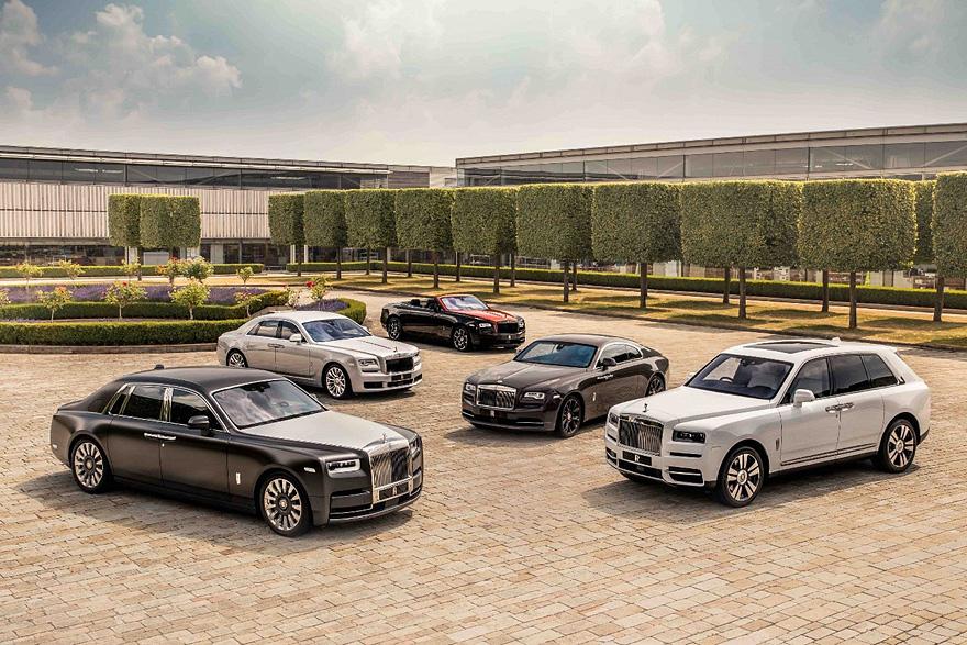 歡慶女神已是 Rolls-Royce 的經典象徵