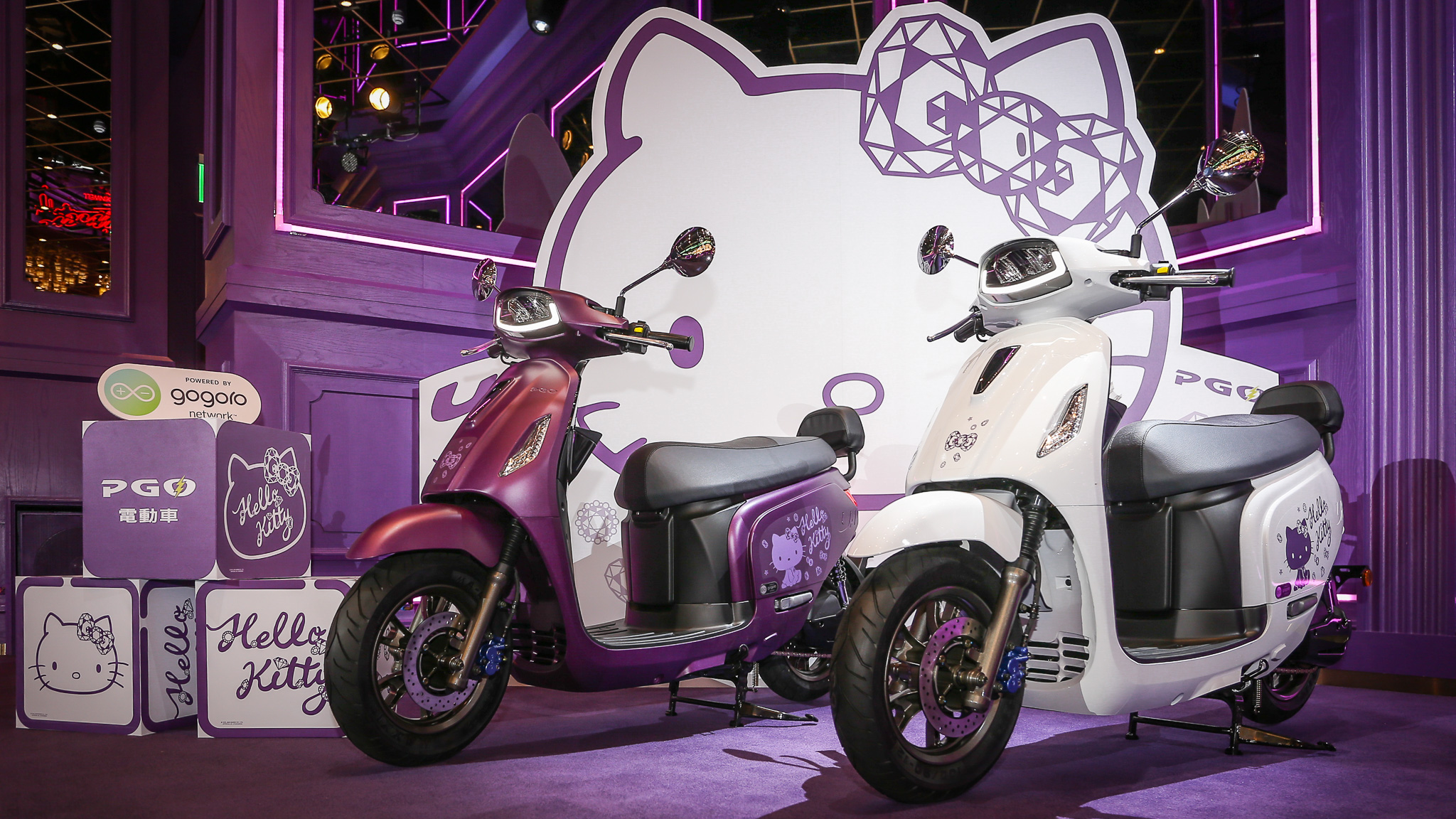 凱蒂貓電力滿!PGO 推出 Hello Kitty Ur1 聯名款電動車售價 88,000 元