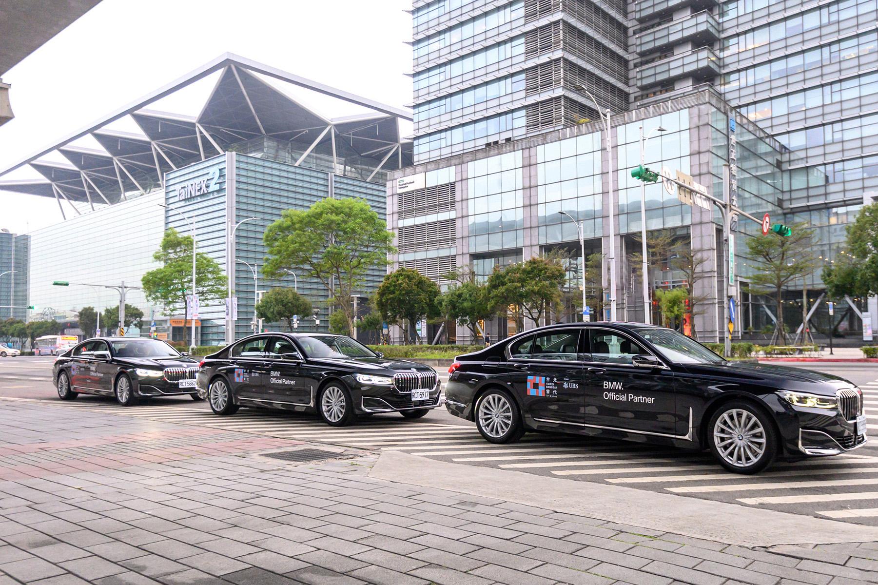 全新 BMW 7 系列成為台北當代藝術博覽會海內外貴賓指定用車。