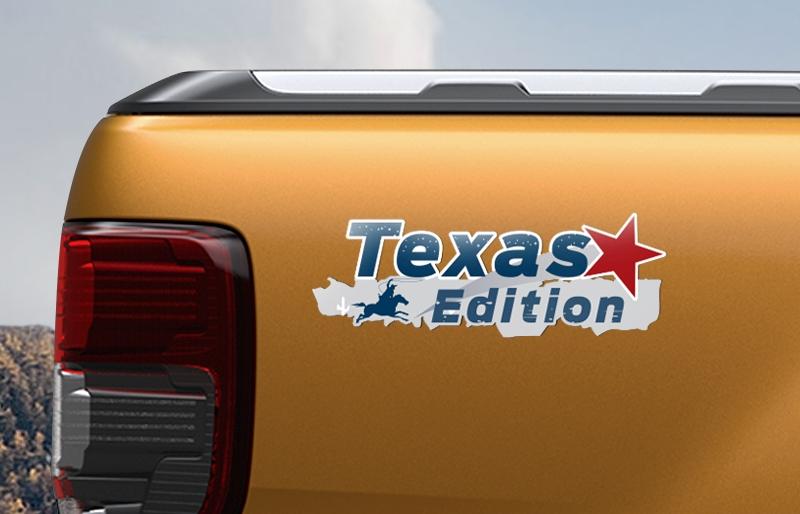 Ford Ranger Texas Edition 德州騎兵版之德州騎兵專屬車貼。