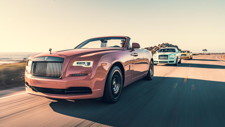 Rolls-Royce Dawn。