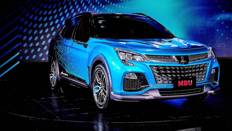 【2020 高雄車展】Luxgen 展出 MBU 概念車,URX 送新春鴻運禮