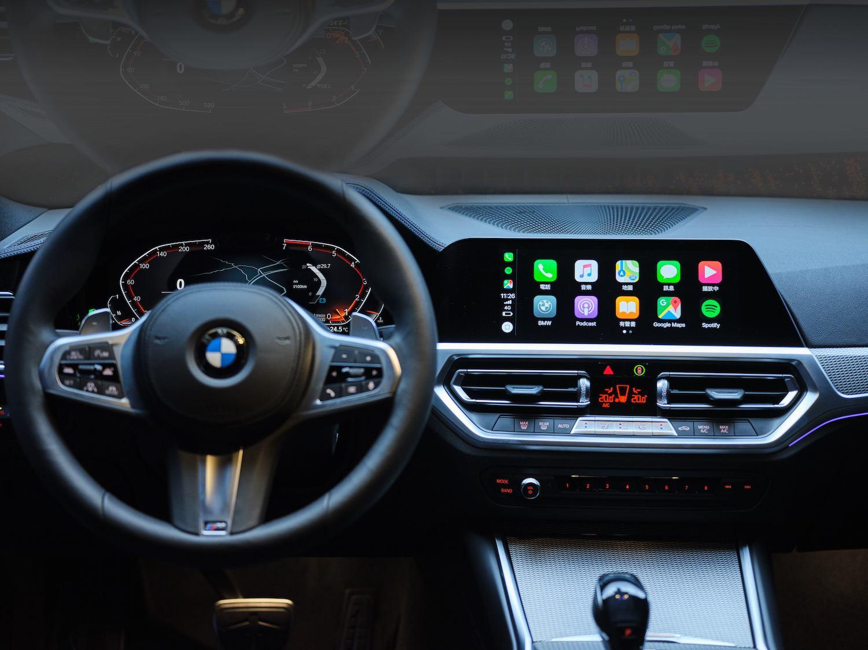 iDrive7.0 全數位虛擬座艙結合 12.3 吋虛擬數位儀錶與 10.25 吋中控觸控螢幕。