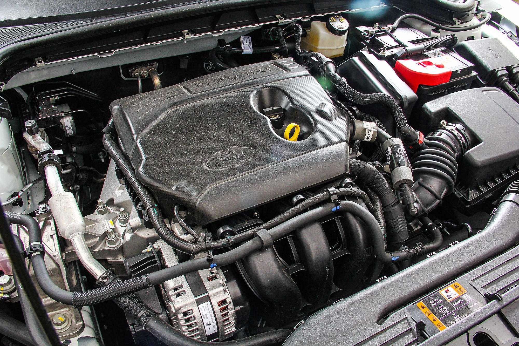1.5 升直列 3 缸自然進氣引擎具有 123 匹的最大馬力。