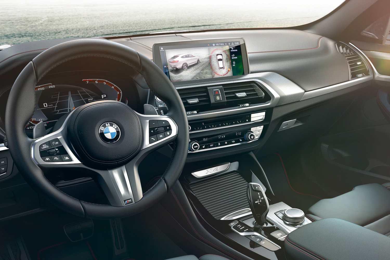 2020 年式全新 BMW X3、X4 升級搭載 360 度環景輔助攝影與遠端 3D 監控。