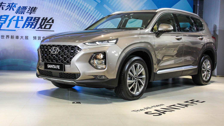 Hyundai 全新進口 Santa Fe 135 萬起預售開跑,休旅家族齊聚世界新車大展