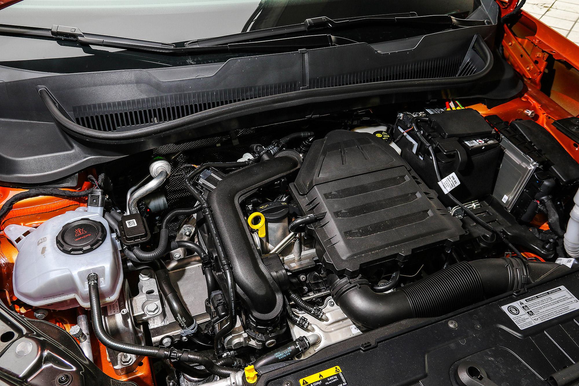 1.0 TSI 引擎具有 115 匹馬力與 20.4 公斤扭力輸出。
