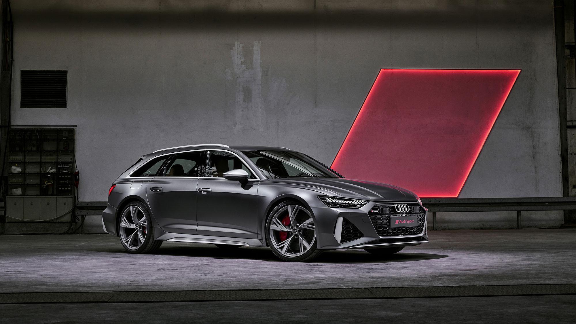 Audi 於 8 月 20 日曝光新一代 RS 6 Avant。