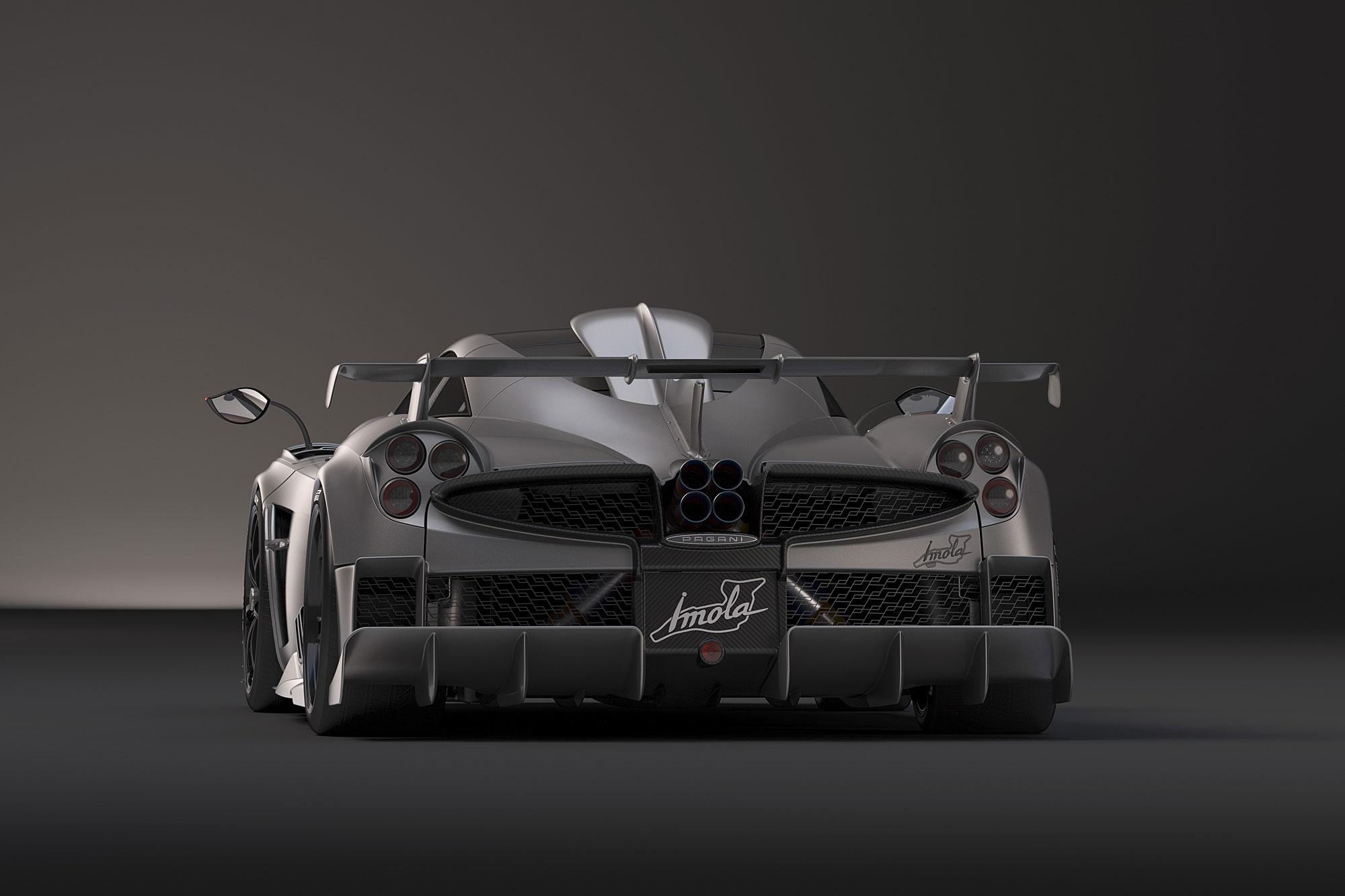 車尾除了固定式尾翼,更導入賽車化的底盤分流器。