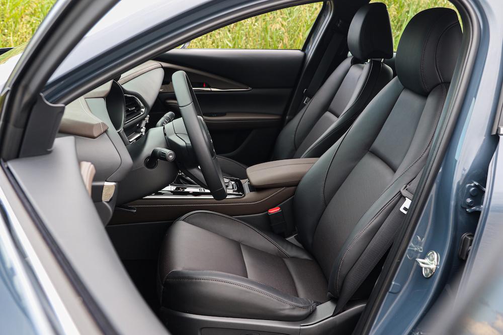 座椅可說是決定 CX-30 舒適與否的關鍵。