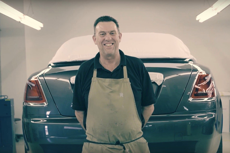 Rolls-Royce 的腰線大師 Mark Court