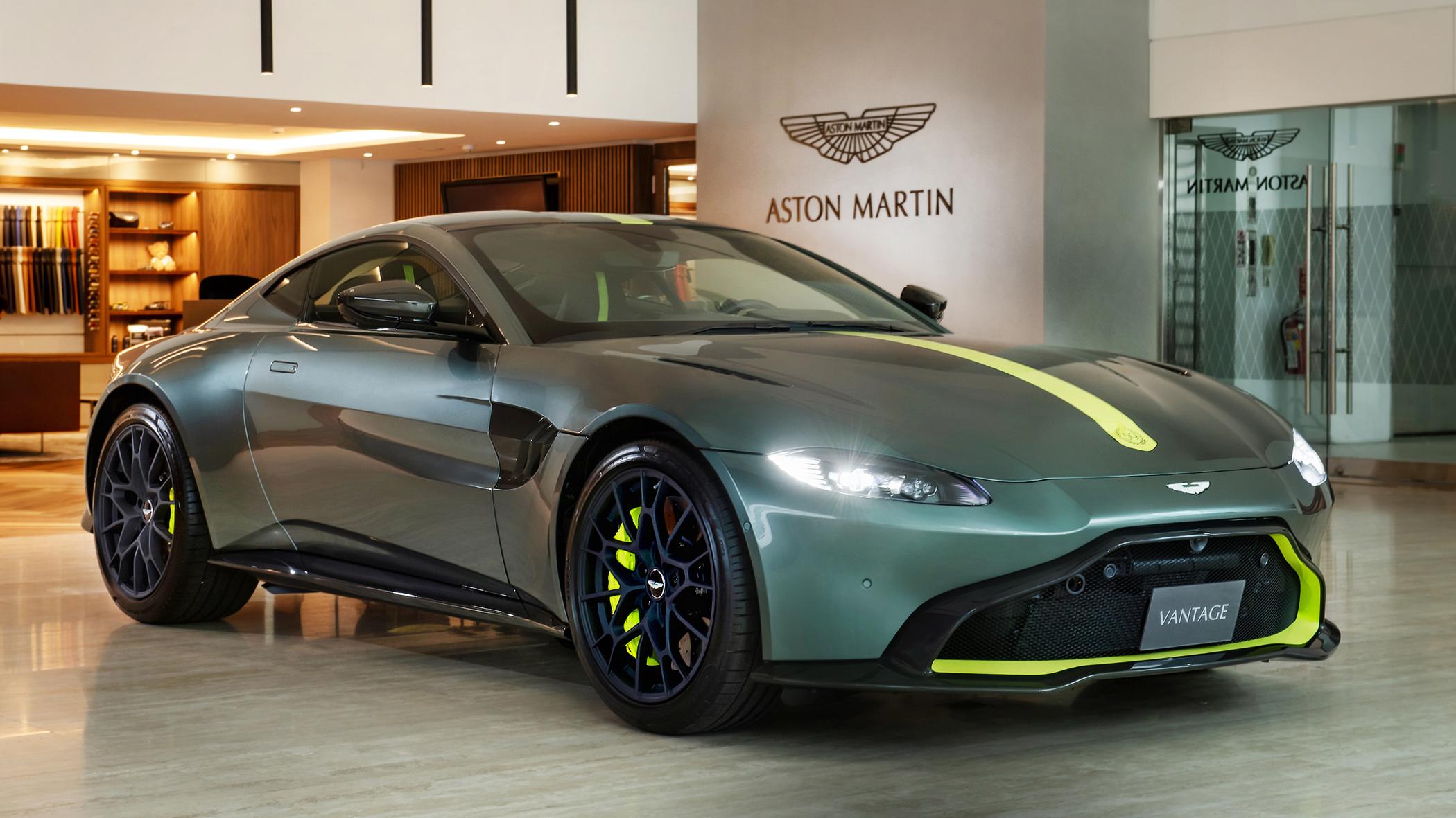 Aston Martin Vantage AMR Manual 59 Edition 1,380 萬限量抵台