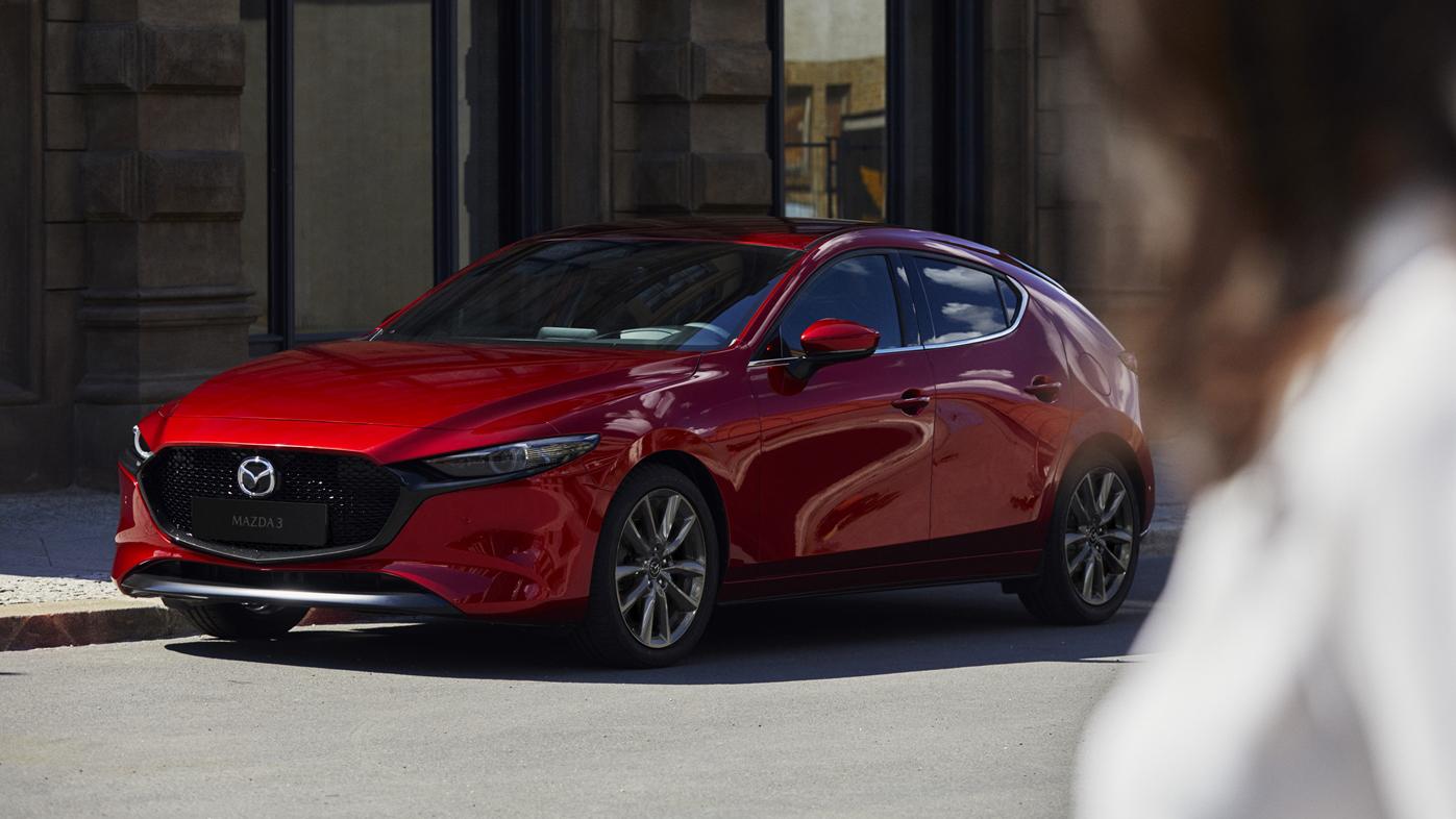 追加安全型,頂規有換檔撥片!21 年式 Mazda3 79.9 萬起開賣