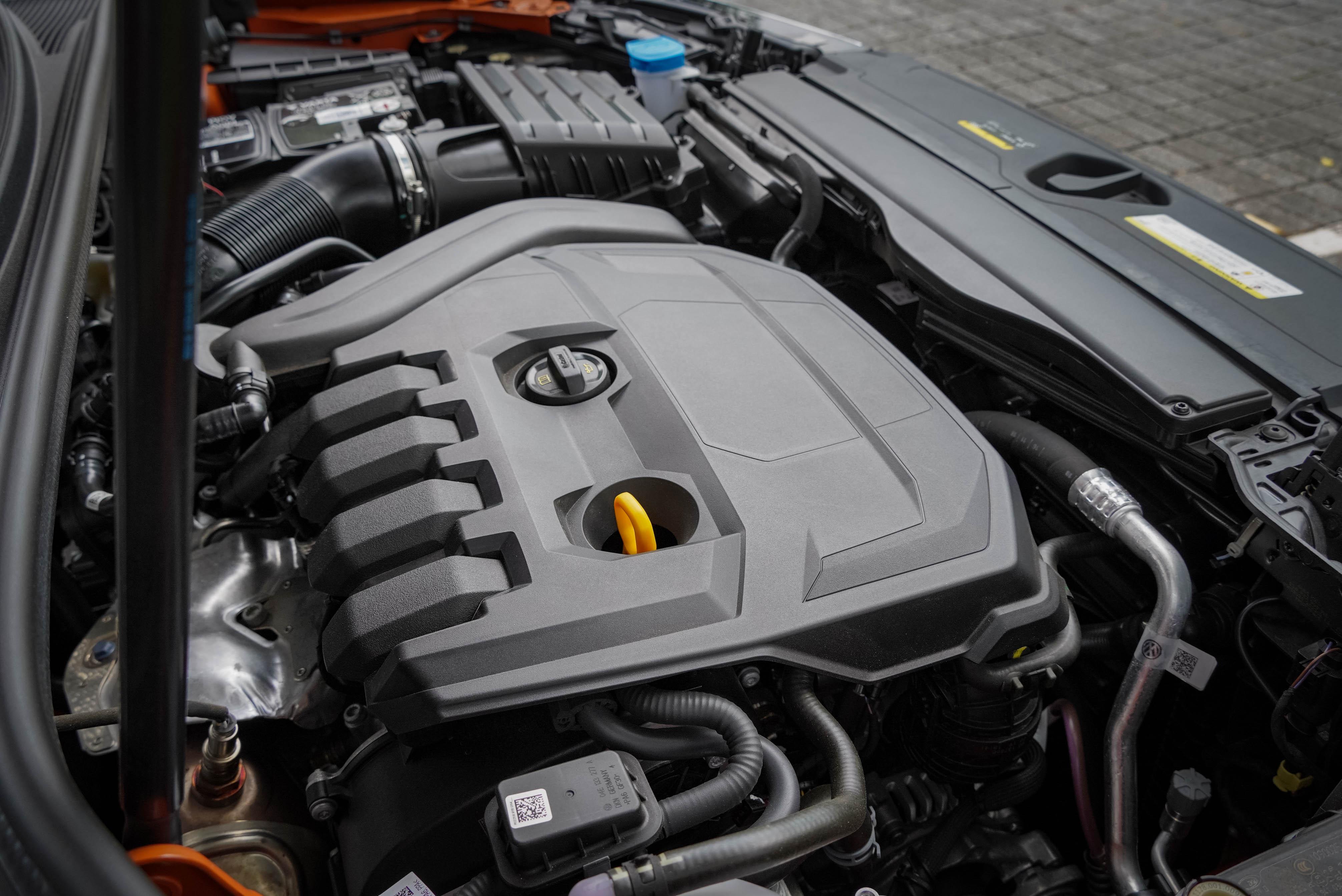 L4 汽油渦輪增壓引擎及 48V 輕型複合動力系統搭配,動力輸出為 150hp/250 Nm。