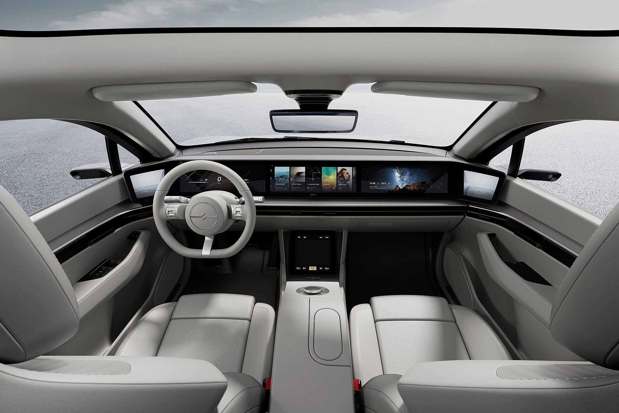 車內全然採用數位化的鋪陳。