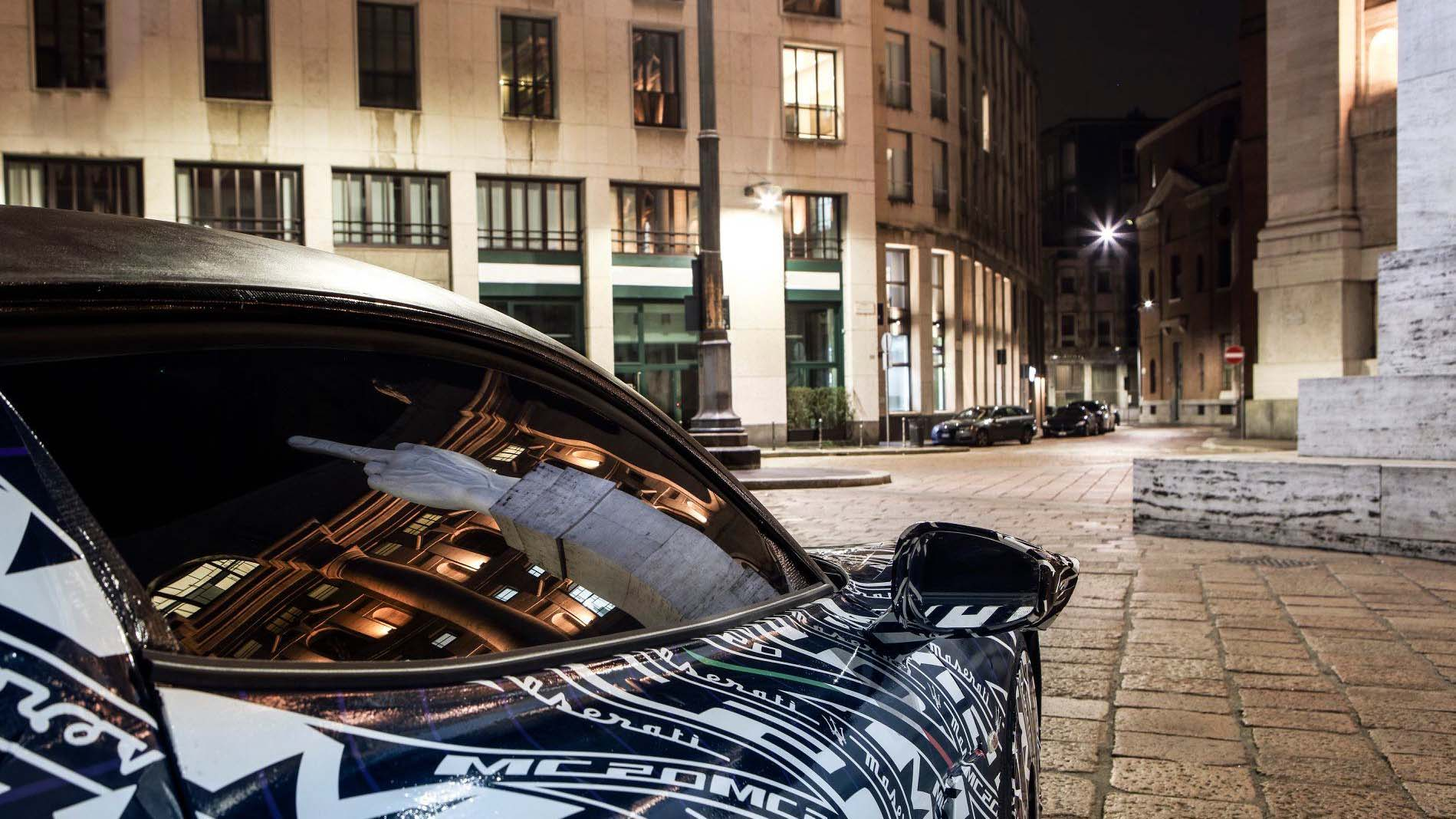 Maserati 全新超跑 MC20 原型車正式進入測試階段