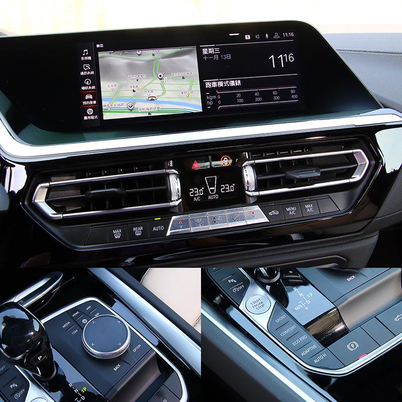BMW算是在一片簡化按鍵風潮下,少數保留基本按鍵介面的車廠,但實際使用就會發現,傳統按鍵在使用直覺性上還是有所優勢。而進化至7.0版本的iDrive介面在操作便利性上又再次精進。