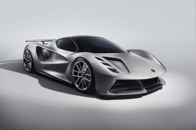 Evija擁有近2000匹馬力,也是Lotus進軍電動車的首款車型。