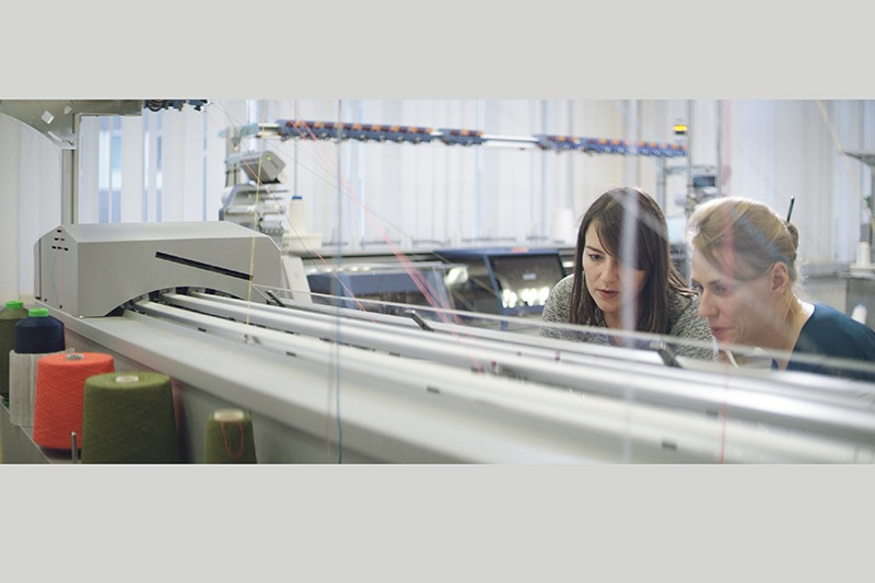 Ford 3D編織列印技術可以用毛料或絲綢等材質製程。