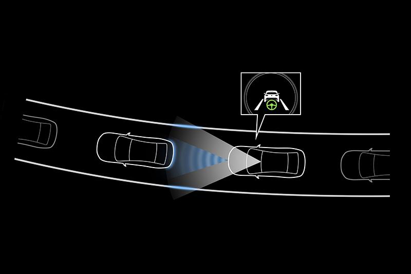 連同CTS巡航模式車道維持輔助系統在內,先進且完整的i-Activsense主動安全科技不僅可將危機屏除於無形,同時帶來輕鬆且便利的駕馭體驗。
