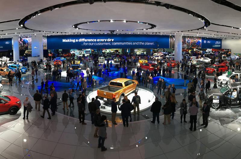 今年許多品牌皆沒參加北美車展。