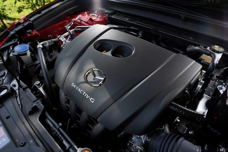 動力系統仍維持原先可輸出165匹馬力的2.0升Skyactiv-G自然進氣引擎
