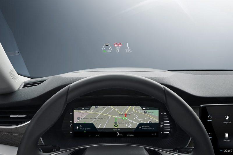 投影式抬頭顯示器讓辨識資訊更加方便。