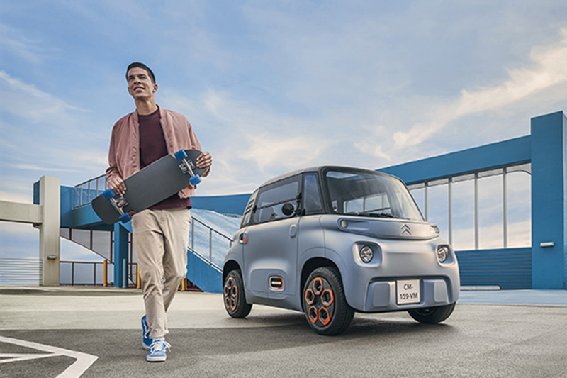 Citroen Ami純電代步車法國發表上市
