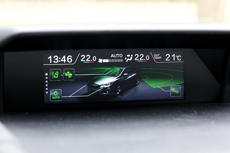 XV GT Edition是以頂規車型為基礎,所以有配置EyeSight系統。