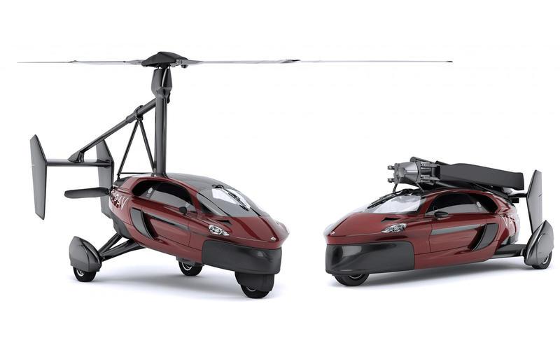 看得出來PAL-V Liberty已是現代化產品,而且是真的能飛,具有離地3500m與160km/h飛行速度。