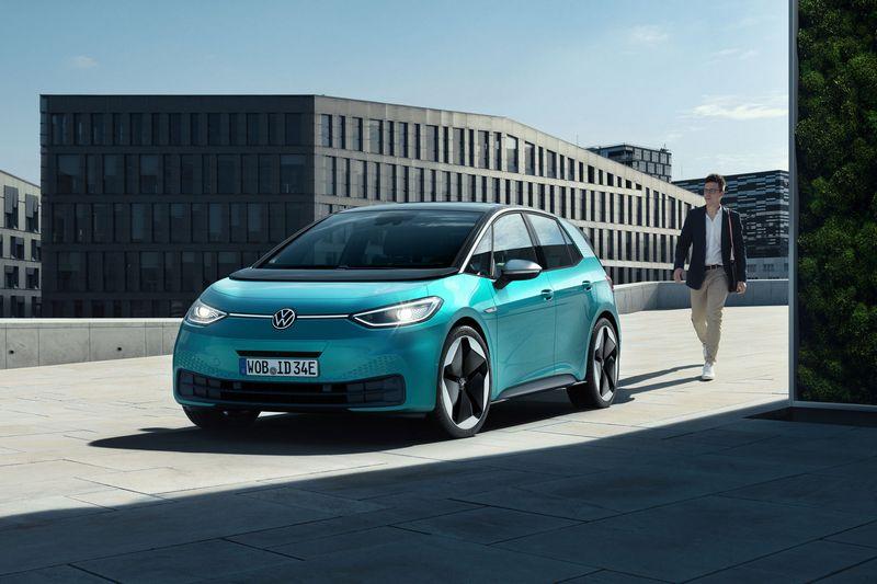 未來將由ID.3接替e-Golf電動車市場地位。