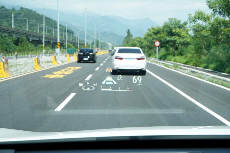 開在路上將駕駛輔助系統打開幾乎就是Level 2等級