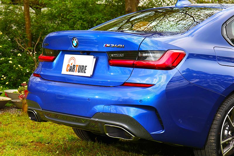 車尾下飾板在鈰色輔佐下運動氣息更顯著。