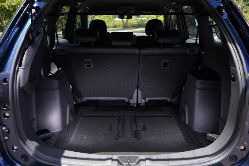 S-AWC車型僅提供五人座選項,若要七人座只能選擇2WD車型