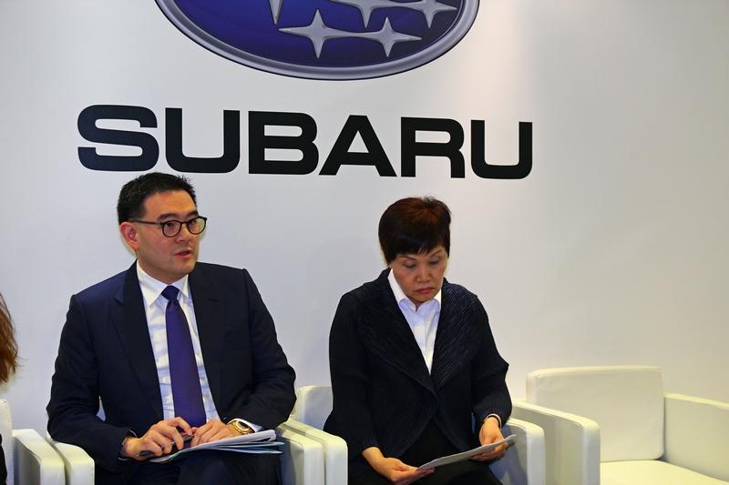 2019年Subaru目標將展間升級與強化售後服務及達到年銷9000輛。