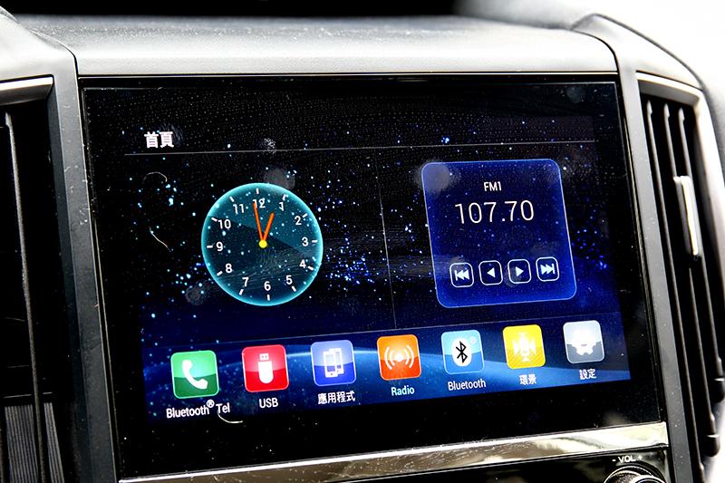 新年式Forester8吋中控螢幕改善觸控反應,Forester GT Edition更提供Apple CarPlay/Android Auto功能。