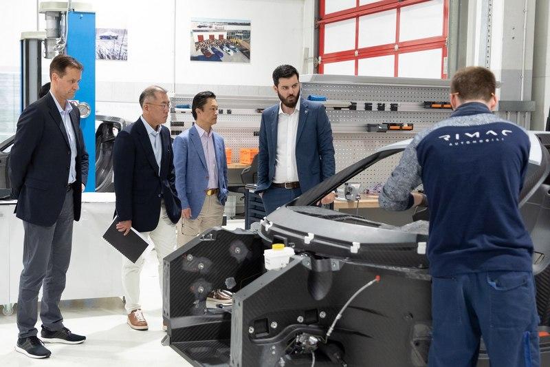 Hyundai透過與Rimac Automobili合作來進入高性能電動車領域。