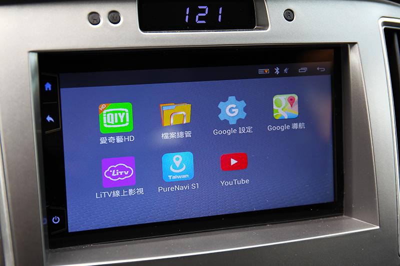 新增7吋多媒體系統,並具備手機連結、Youtube與導航等功能。