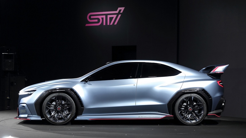 WRX STI動力預計會採用FA20引擎。