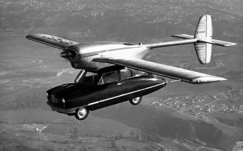 1947年的ConVairCar 118型真的將飛機與汽車結合。