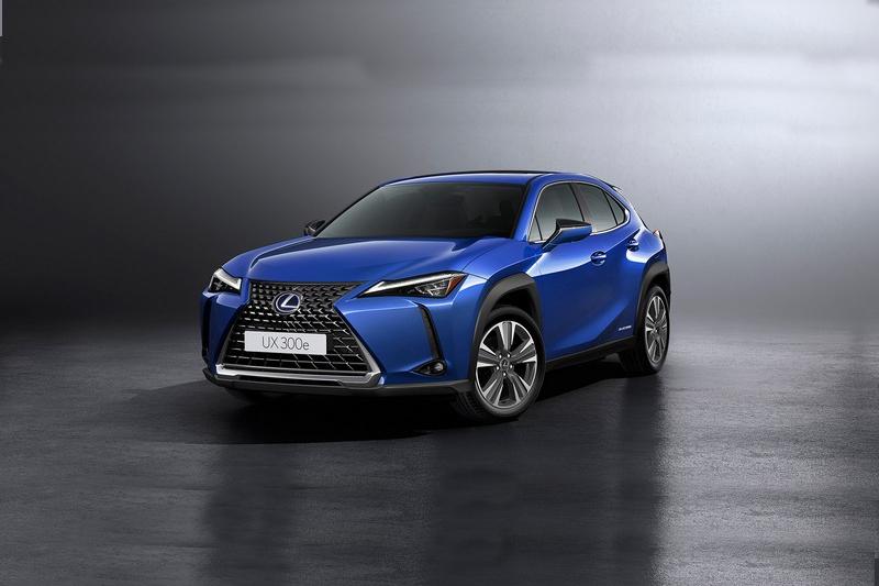 2018年註冊的UX300e國然就是Lexus首款電動車。